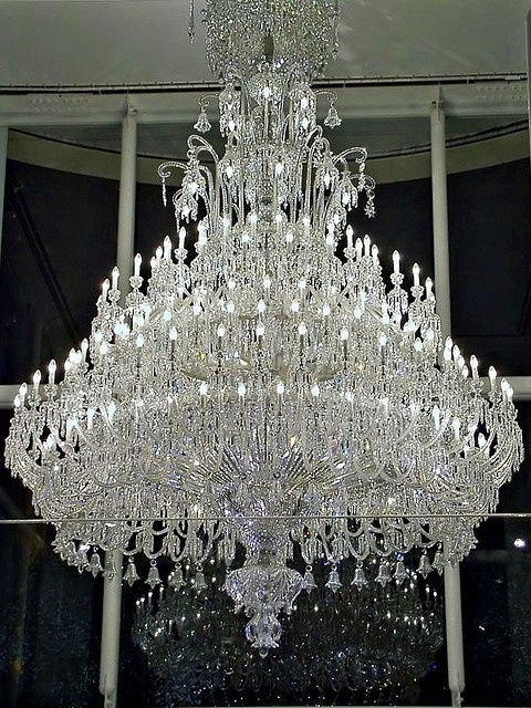 Baccarat Crystal Chandelier By Megara Liancourt Via Flickr More