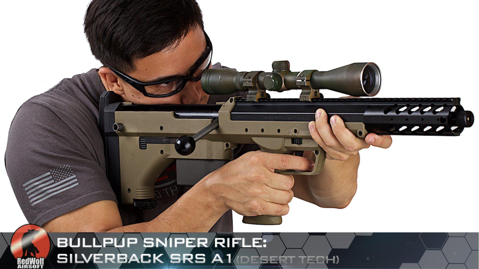 Bullpup Sniper Rifle Silverback SRS A1 (Desert Tech