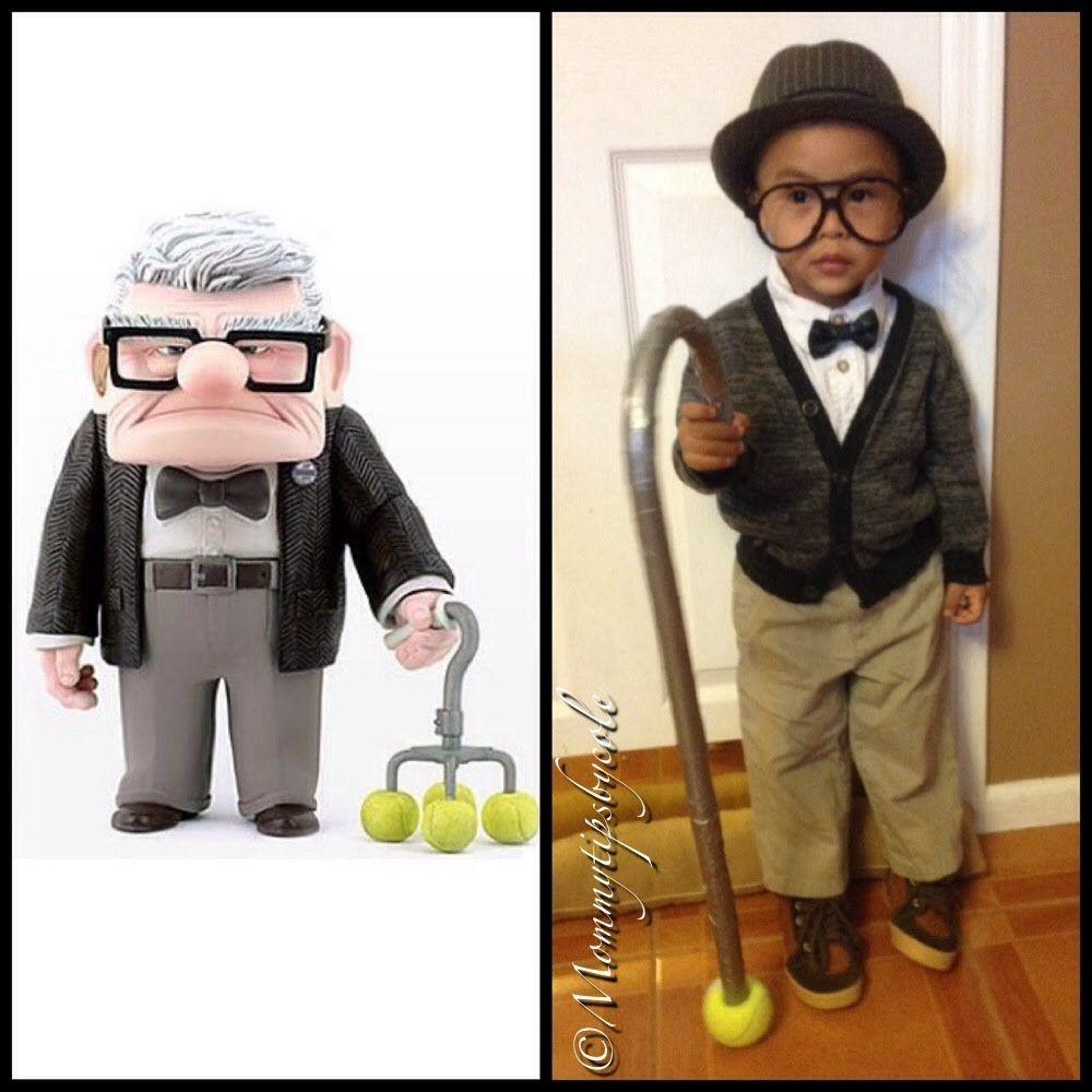 "DIY Disney's ""UP"" COSTUME Mr. Fredrickson aka Grandpa"