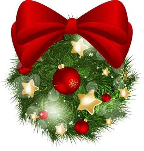 CHRISTMAS WREATH CLIP ART CLIP ART CHRISTMAS 1