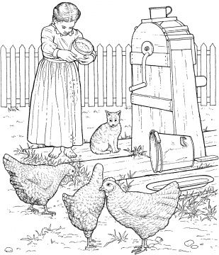1000 images about farm animal digi and coloring pages on