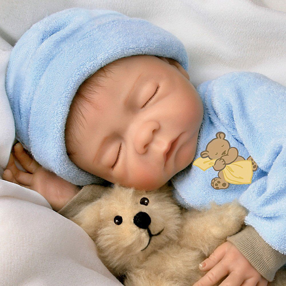 Sweet Dreams, Baby Jacob So Truly Real 18Inch Realistic