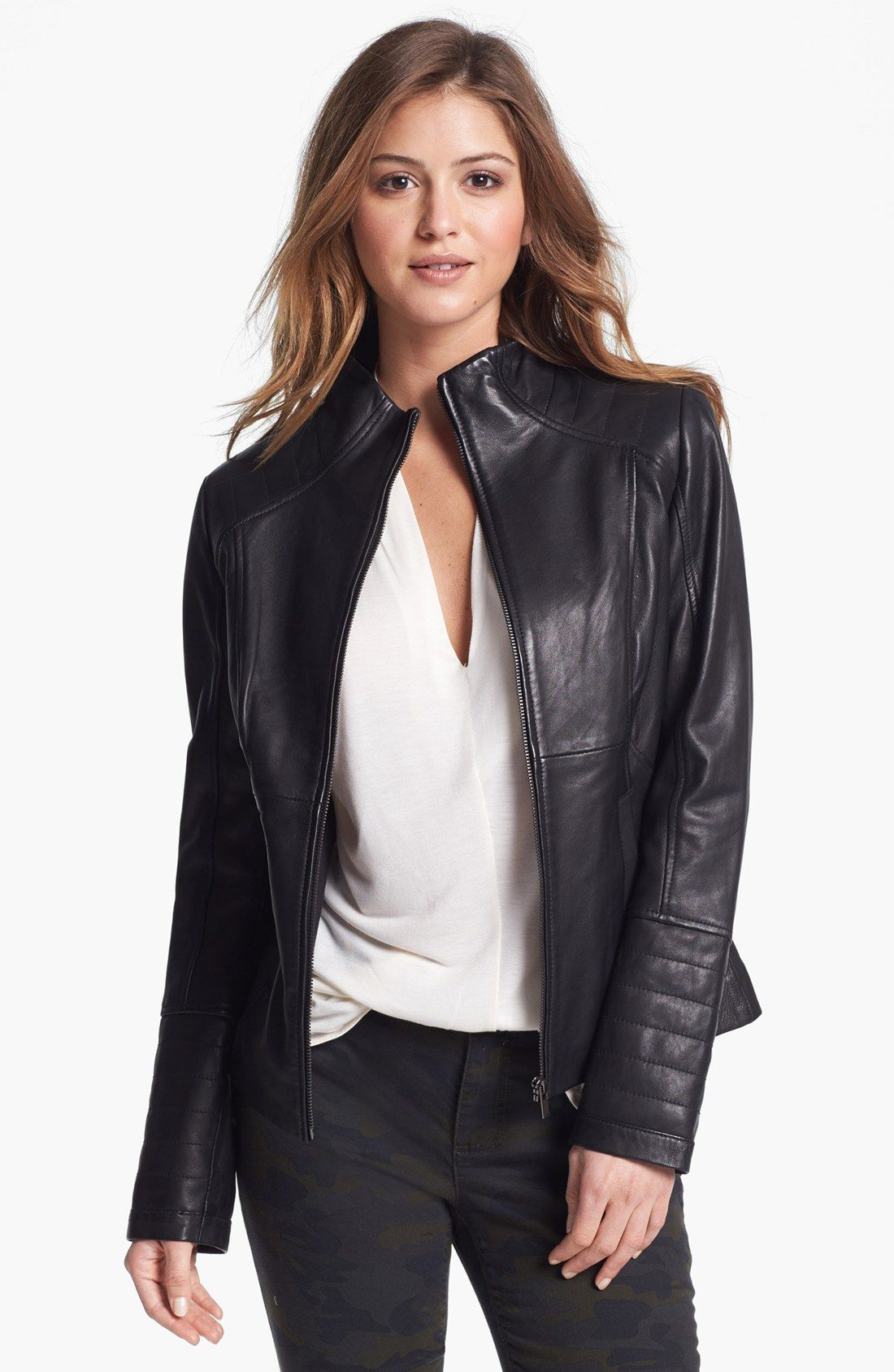 buy women's sexy leather jackets, black / brown in usa, uk
