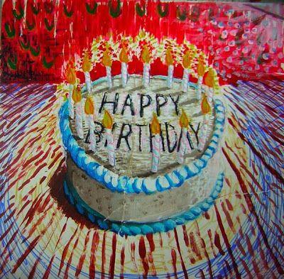 Birthday Paintings Happy Birthday Painting 300