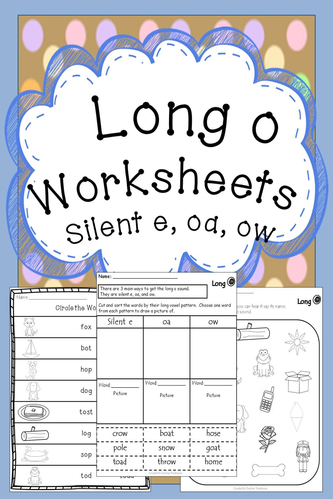 Long O Worksheets
