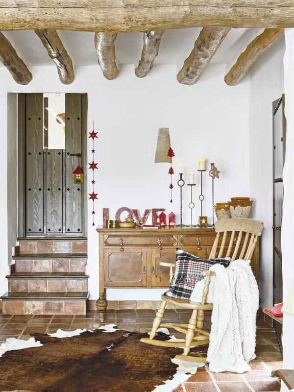 A rustic house in Andalusia   Cozy corner   Pinterest   Interior     A rustic house in Andalusia