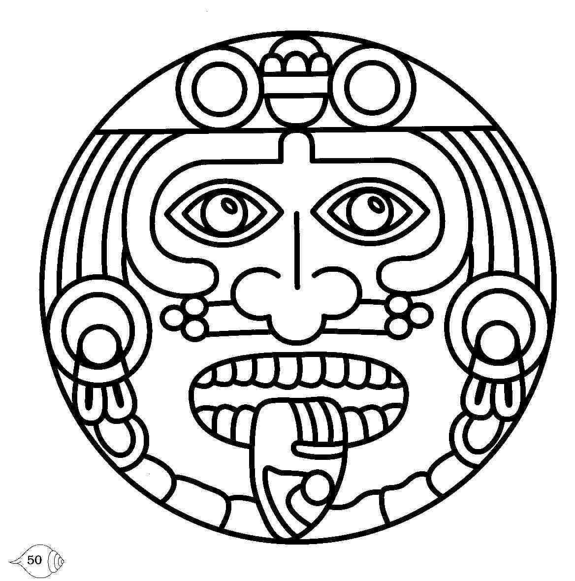 Mayan Symbols Mayan Circle