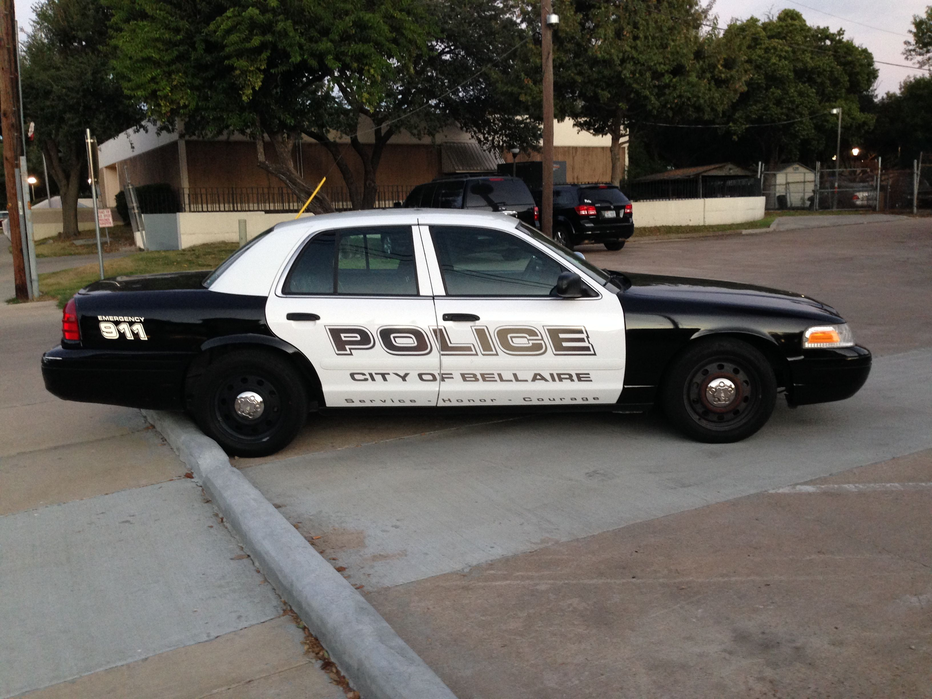 Bellaire Police Ford Crown Victoria (Texas) Police