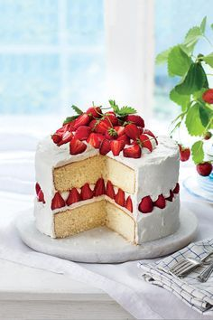 All Time Favorite Desserts  Strawberry Dream Cake   REPOSTER    A     Recipe  Strawberry Dream Cake You  fall in love with this  too good to be true strawberry cake  Fluffy whipped frosting made with  marscapone cheese  sugar