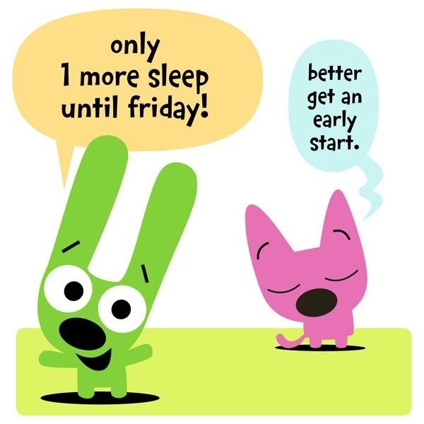 Only 1 More Sleep Until Friday MORE Cartoon Amp TV Images