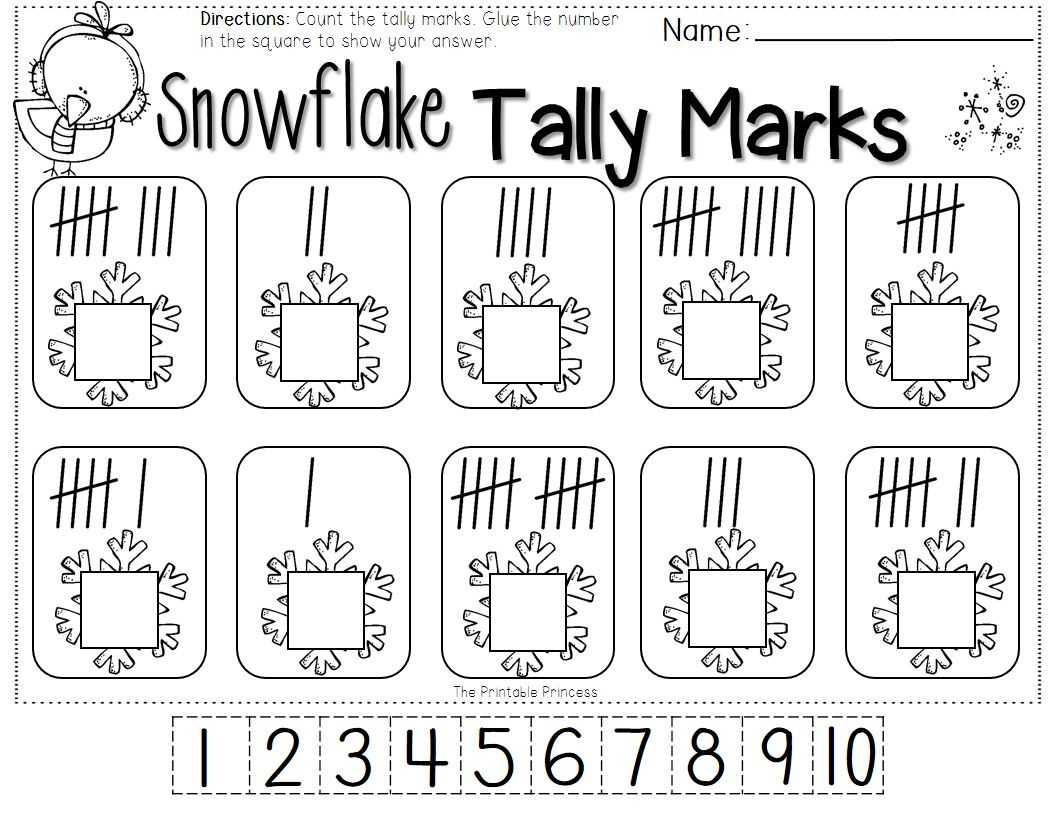 Free Printable Pages For January Great For Reviewing After Winter Break