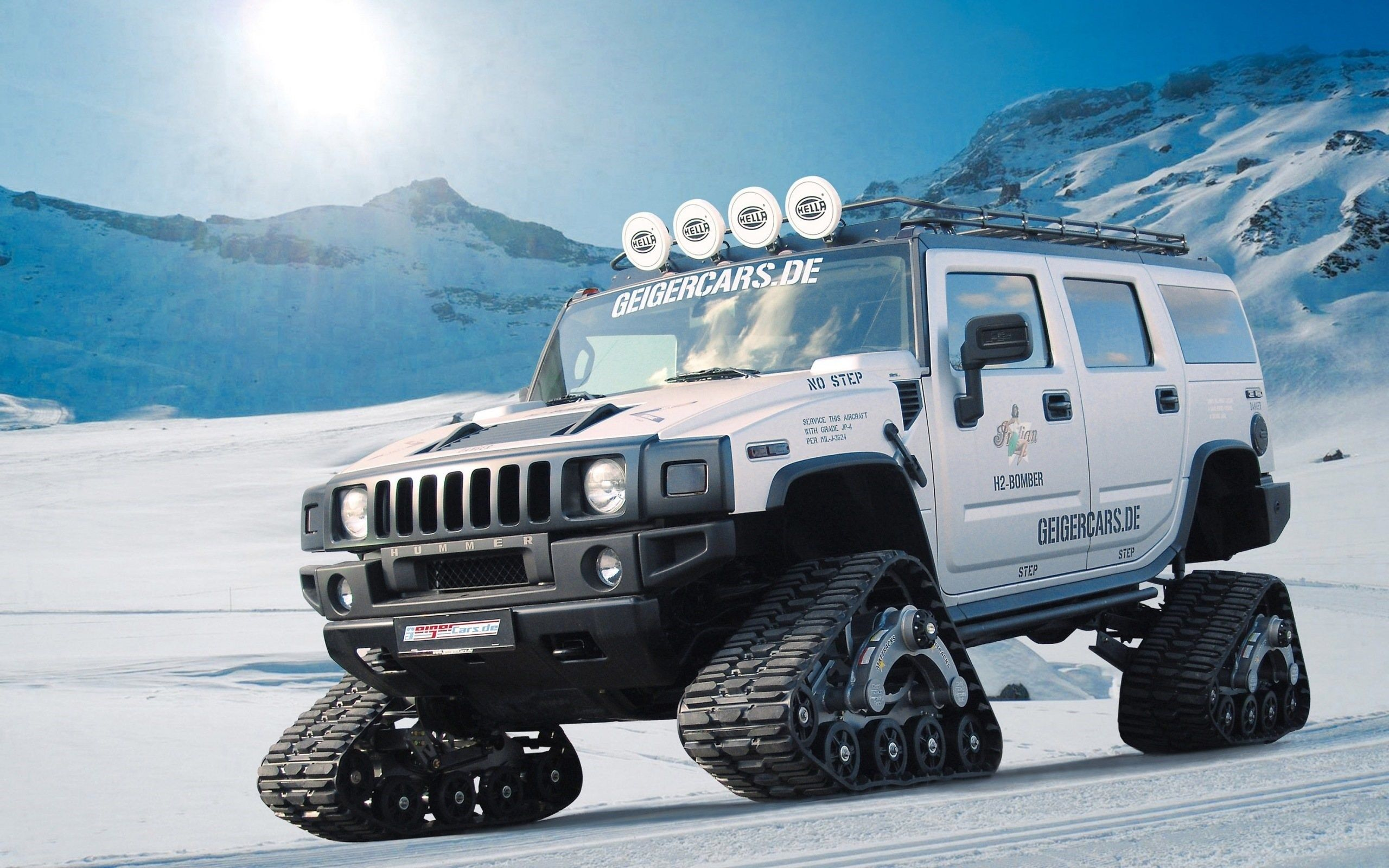 hummer h2 snow modified Background o oshka