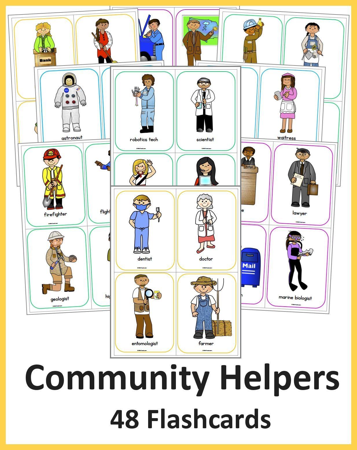 Community Helpers Flashcards