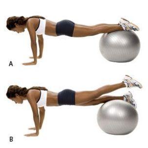 Image result for Ball Leg Lift