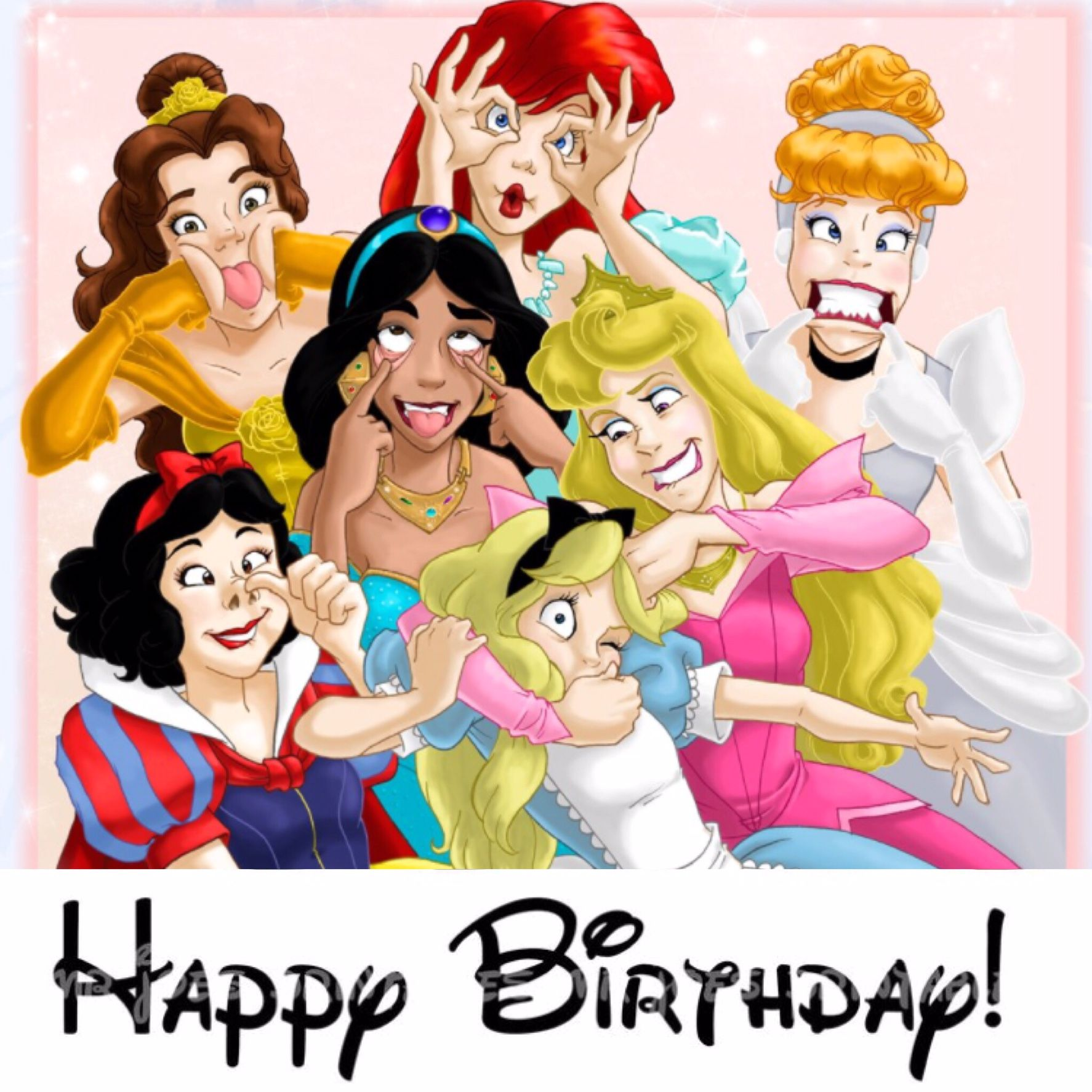 Disney Princess Birthday Meme Memes Pinterest Disney