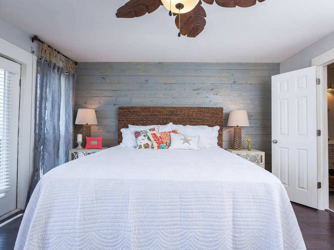 Rustic Chic Master Bedroom Renovation From Hgtv S Beach