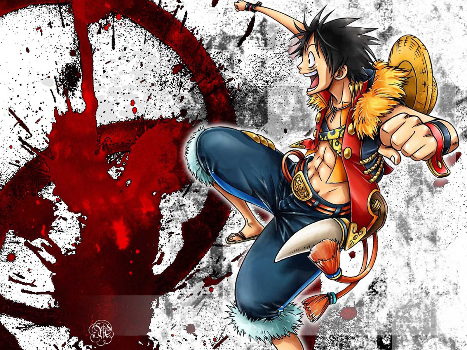 one piece monkey d luffy captain of the straw hat pirates hd