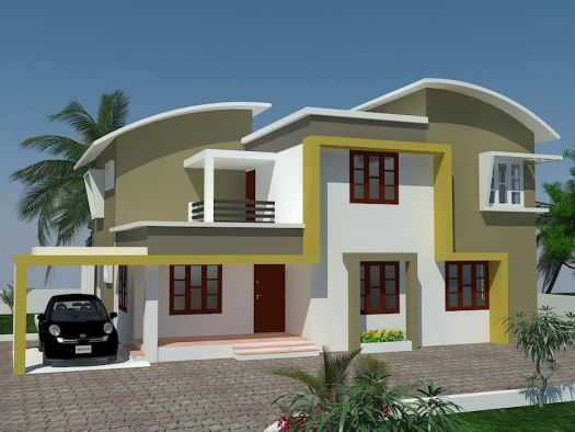 Kerala Exterior Painting Home Design House Designs Exteriorhousepaint More