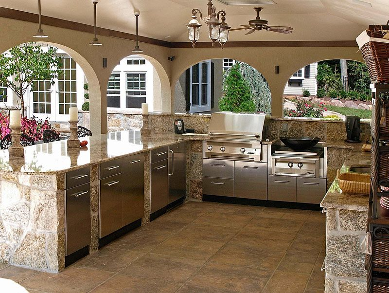 Awesome Outdoor Kitchen Designs and Ideas Kitchen design
