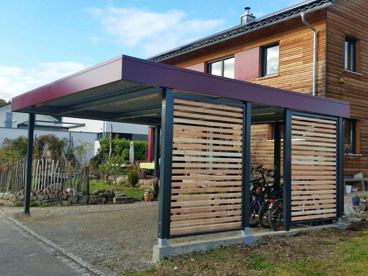 MyPort Carport aus Stahl/Holz Garten Pinterest