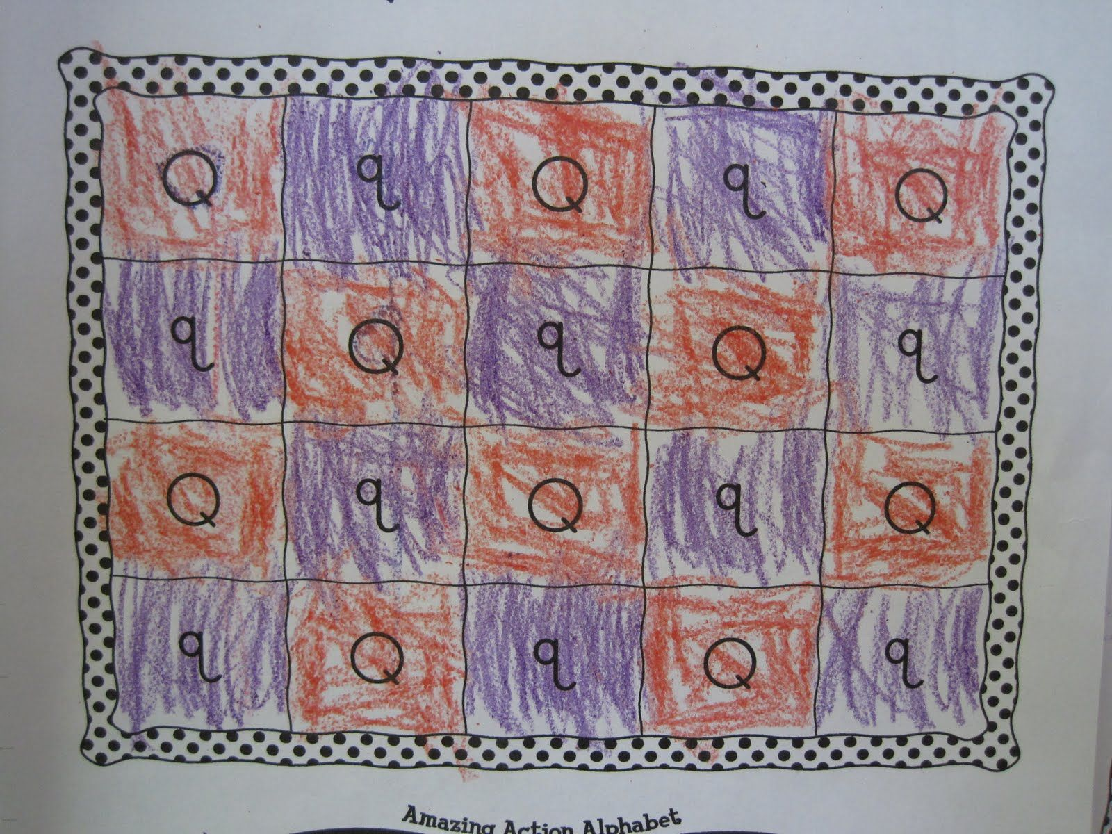 Q Is For Quilting For Preschoolers