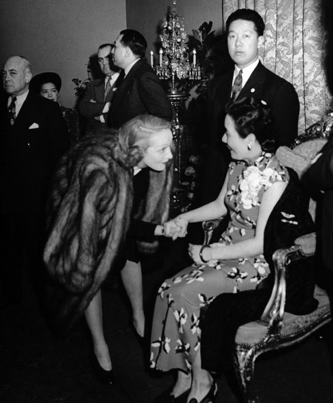 Image result for madame chiang kai-shek in hollywood