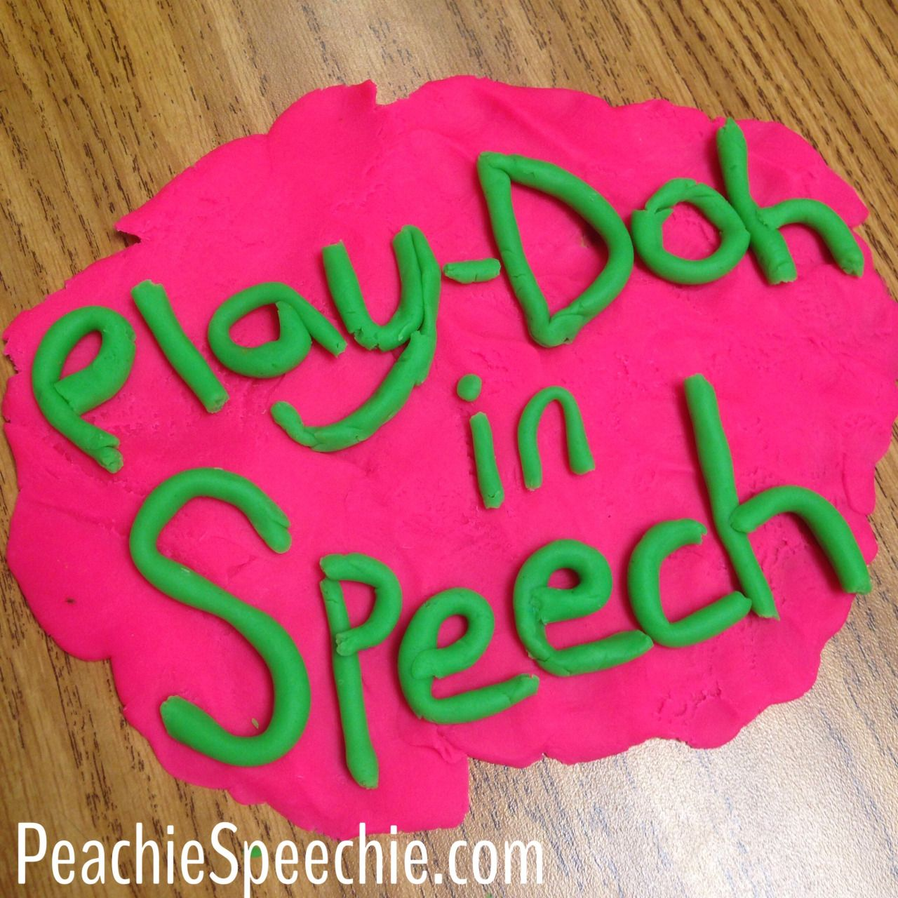 Using Play Doh In Speech Therapy