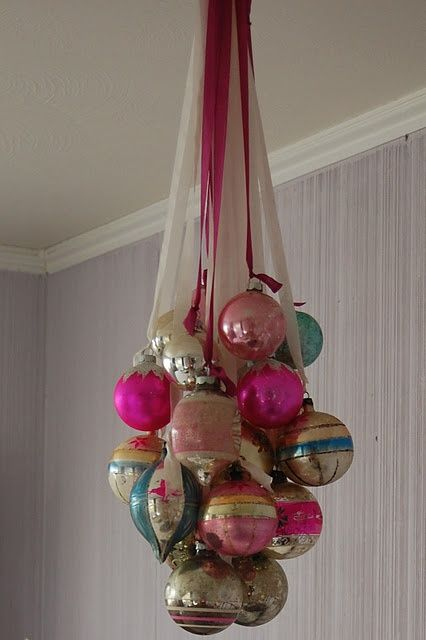 Vintage Ornament Chandelier I Could So See This In My Daughter Laws House