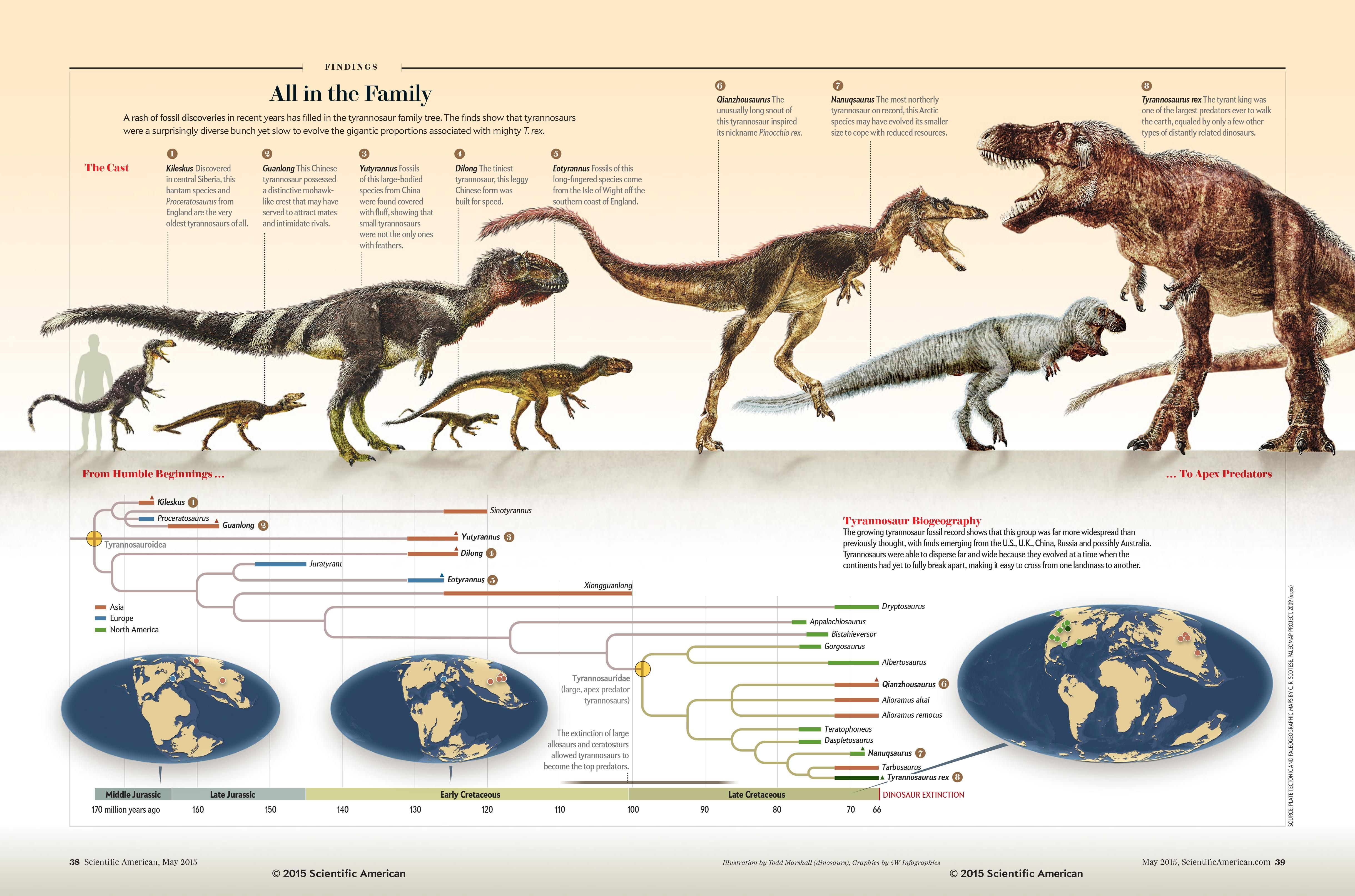 Tyrannosaurs All In The Family