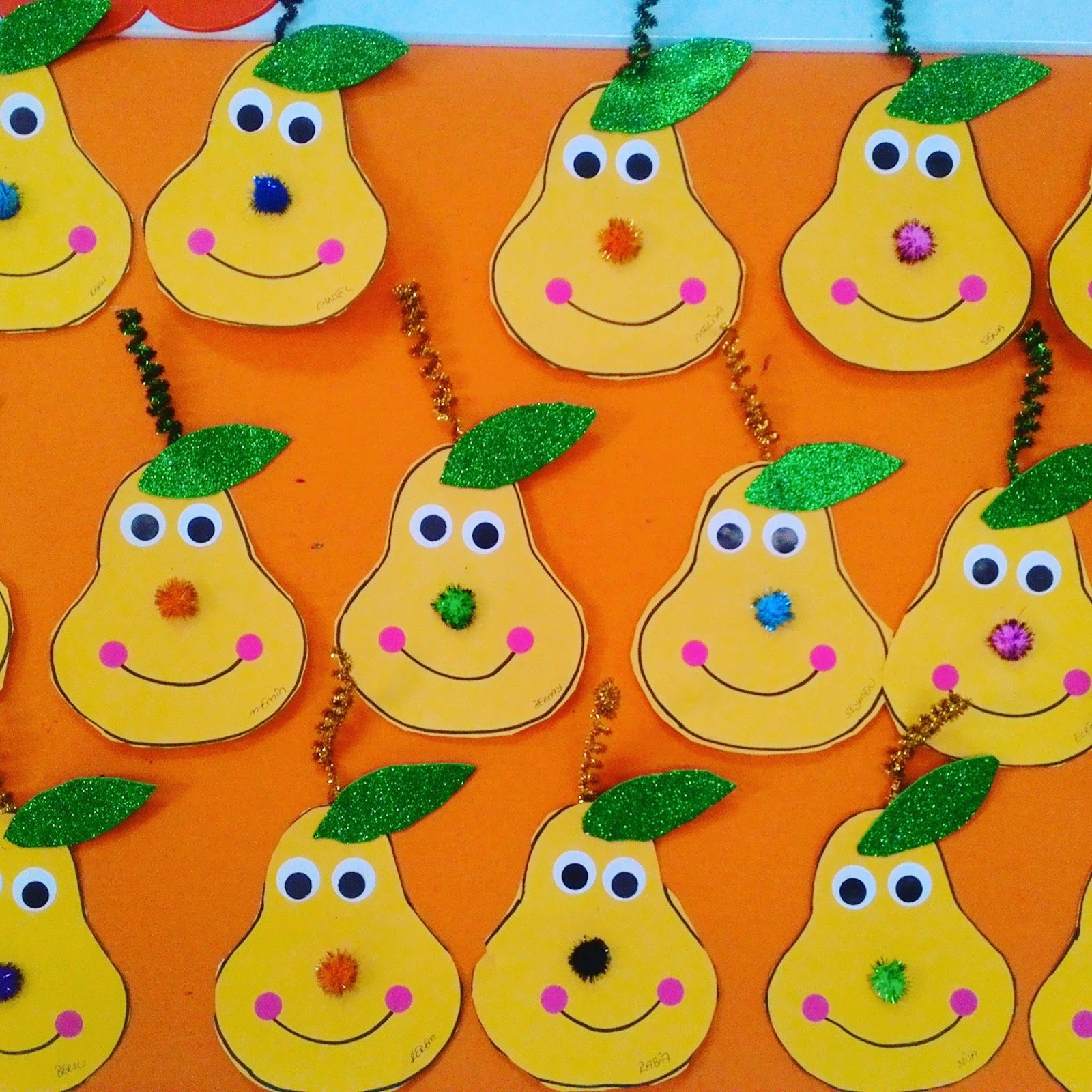 Pear Craft Idea For Kids