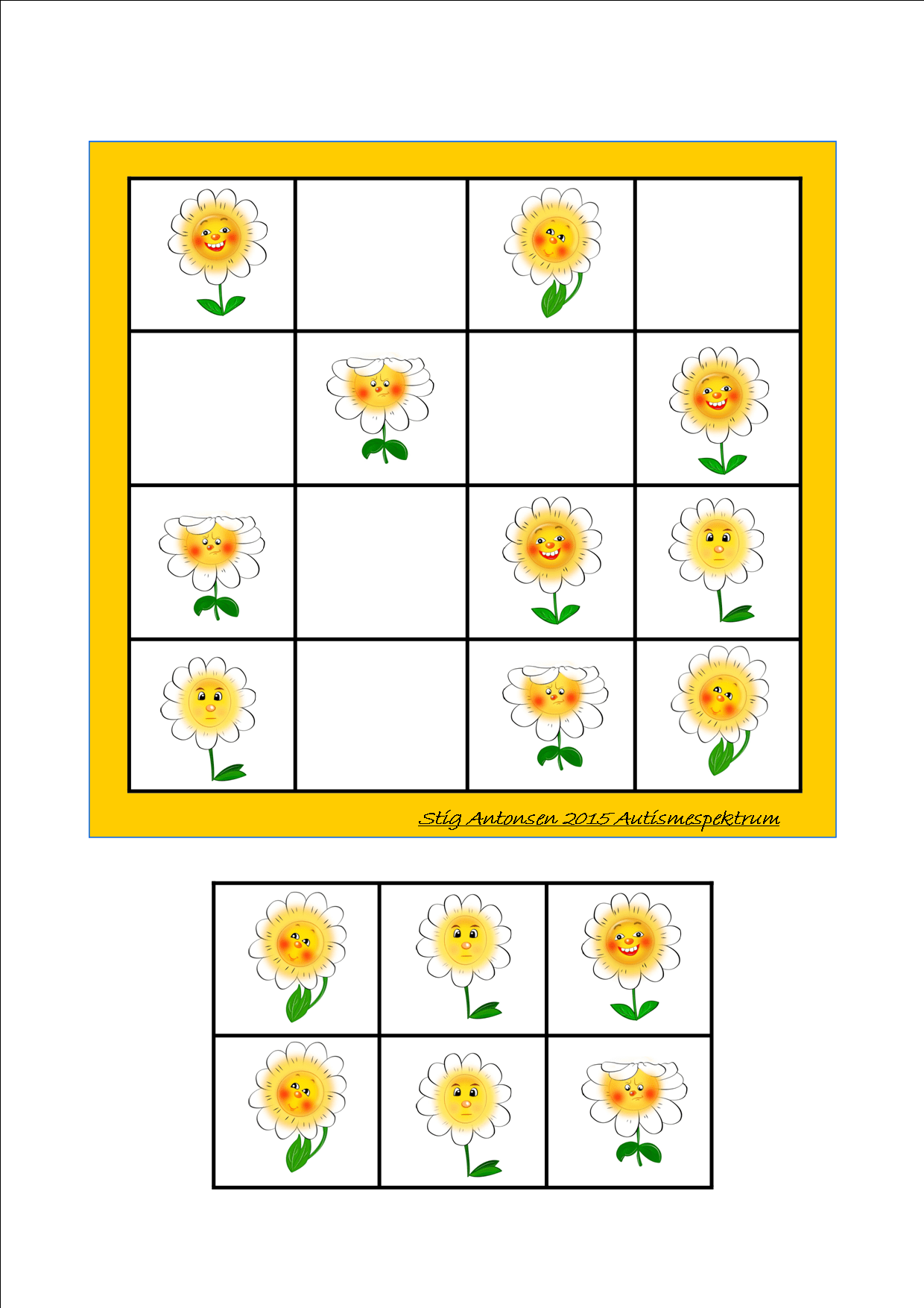 Simple Sudoku Flowers