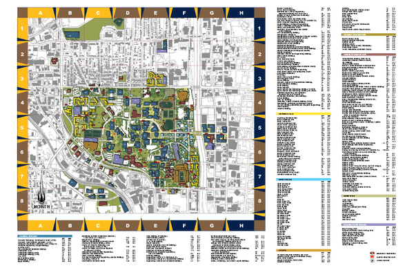 Tech campus map Atlanta Pinterest Campus map