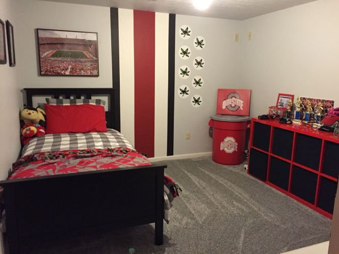 25 Best Ideas About Ohio State Rooms On Pinterest