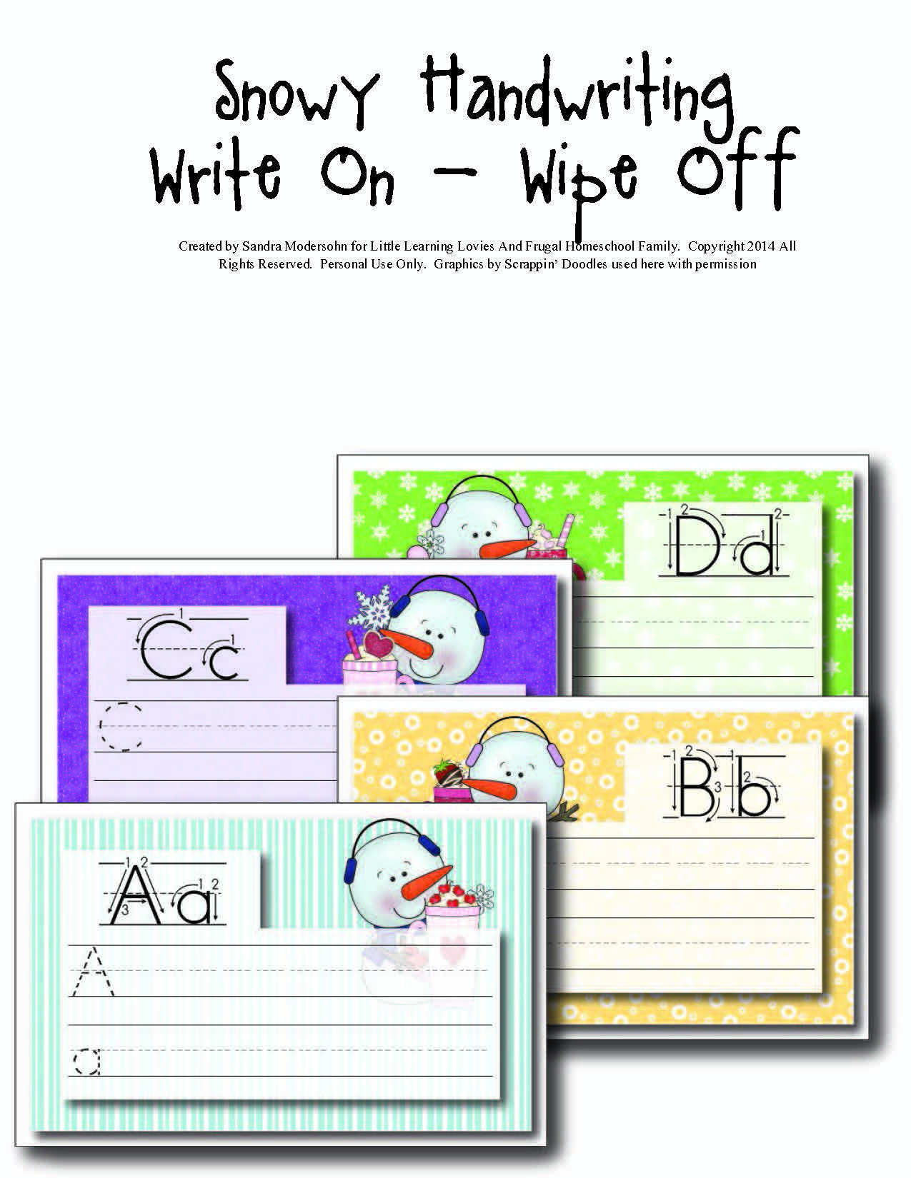 Make Handwriting Practice Fun This Winter With These Free