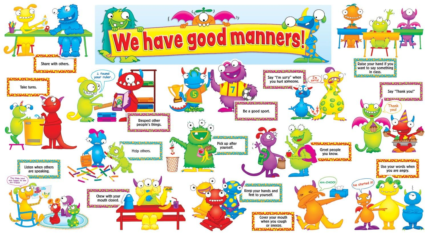 Preschool Themes Manners
