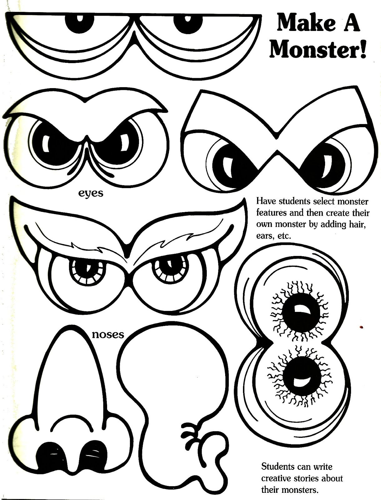 Print Out The Face Sheets On Magnet Paper You Can Print Out The Facial Features On Magnet Paper