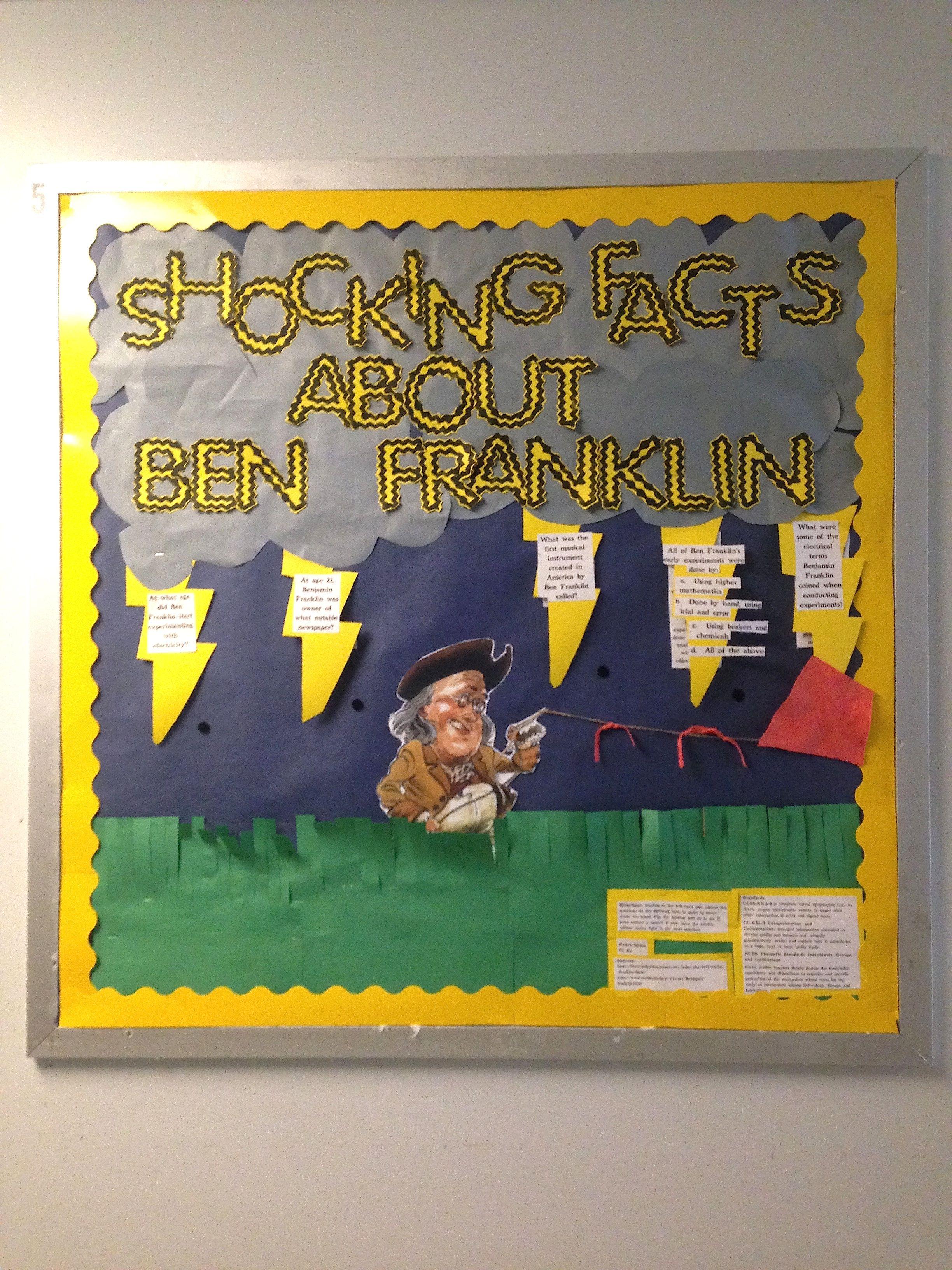 Shocking Facts About Benjamin Franklin Bulletin Board