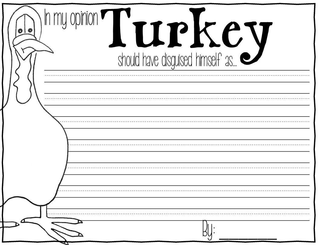 Turkey Trouble Kindergarten Worksheets Turkey Best Free Printable Worksheets