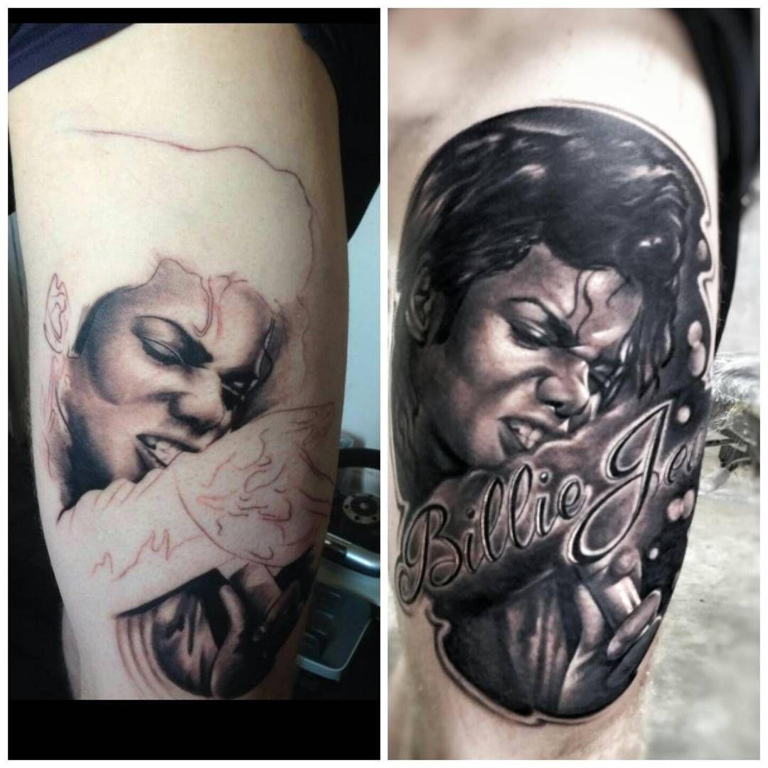"""Michael Jackson fix done on tonight's tattoofixers"