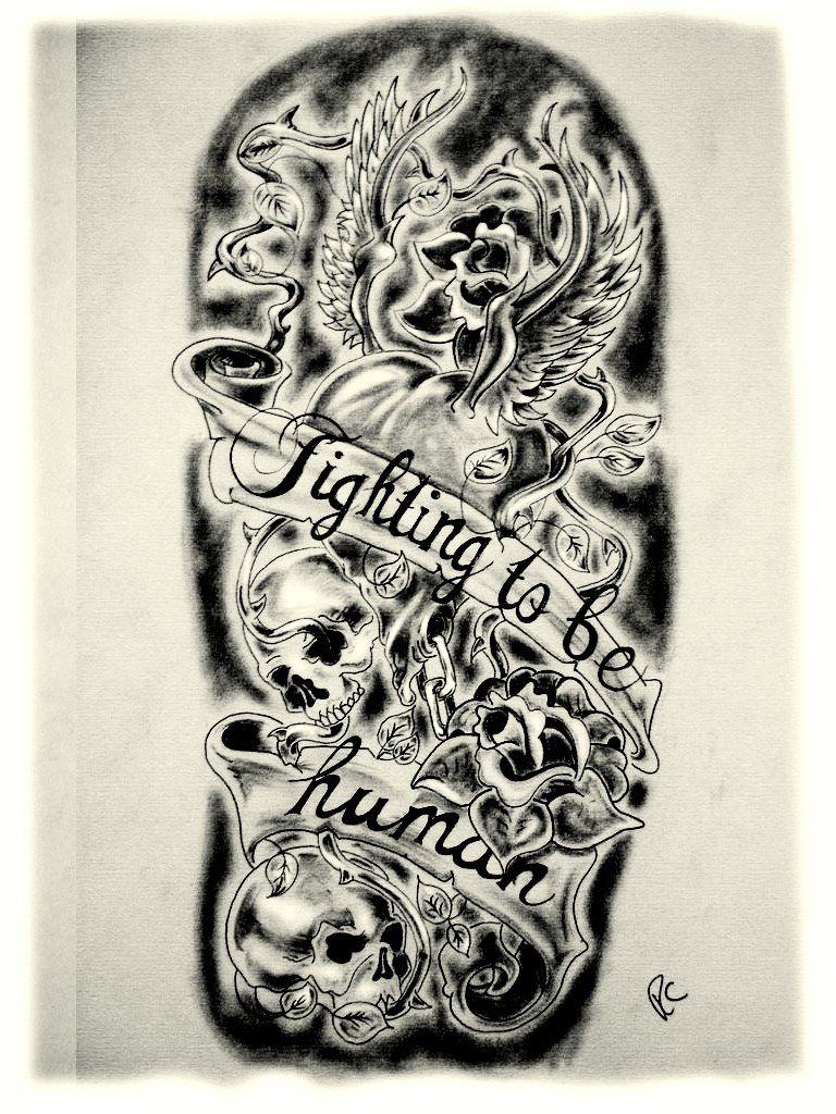 New School Tattoo Designs For Men Sleeves Tattoo