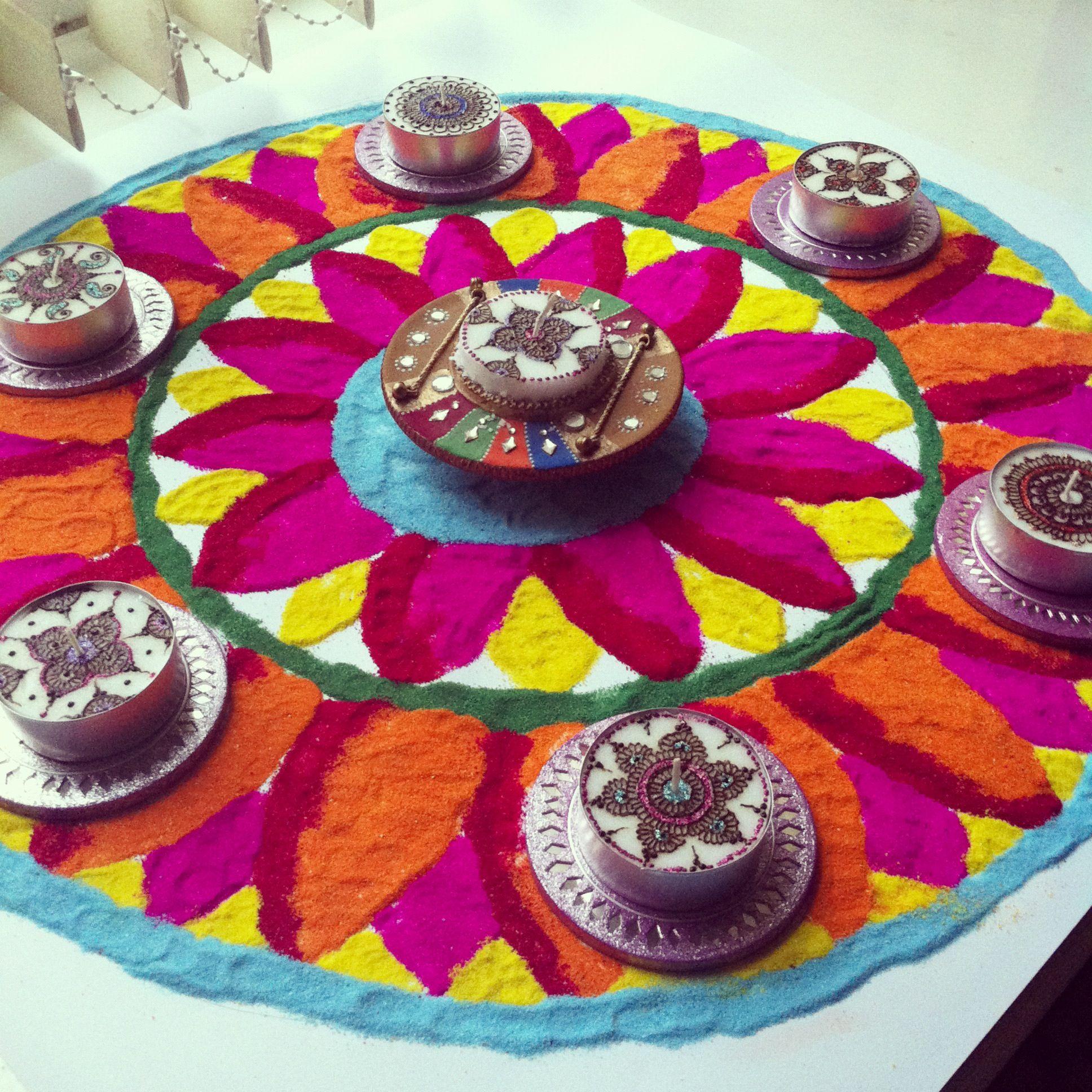 My Rangoli diwali rangoli RANGOLI Pinterest Diwali