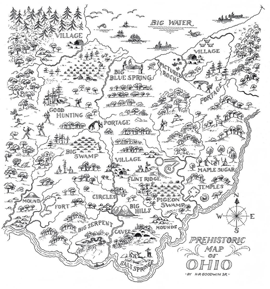 Early Maps Of Ohio