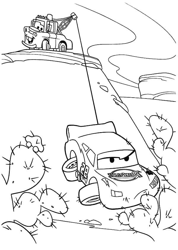 tow mater coloring pages and mcqueen on pinterest