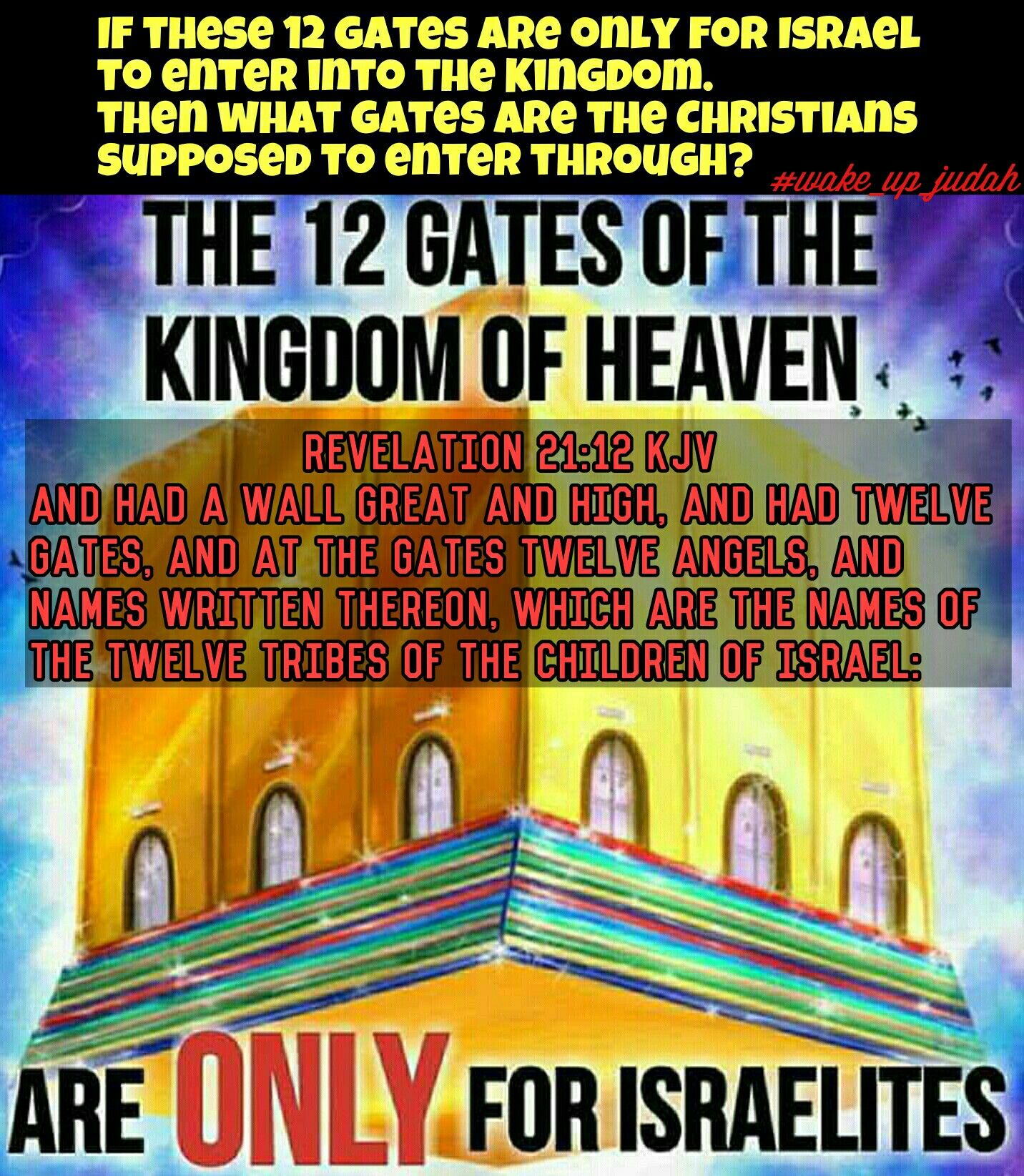 This Is Obviously False The Gates Are Symbolic Of The 12