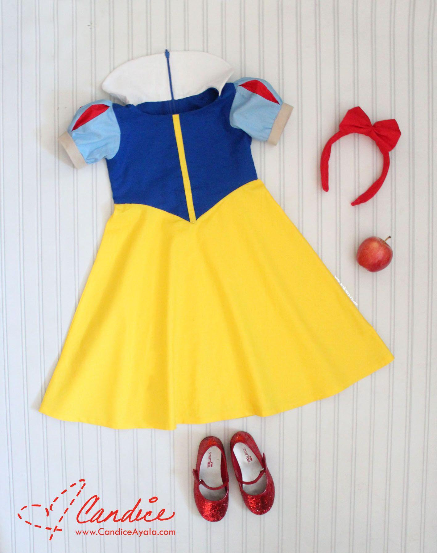 Snow White Dress DIY My Sewing Diary Pinterest Snow