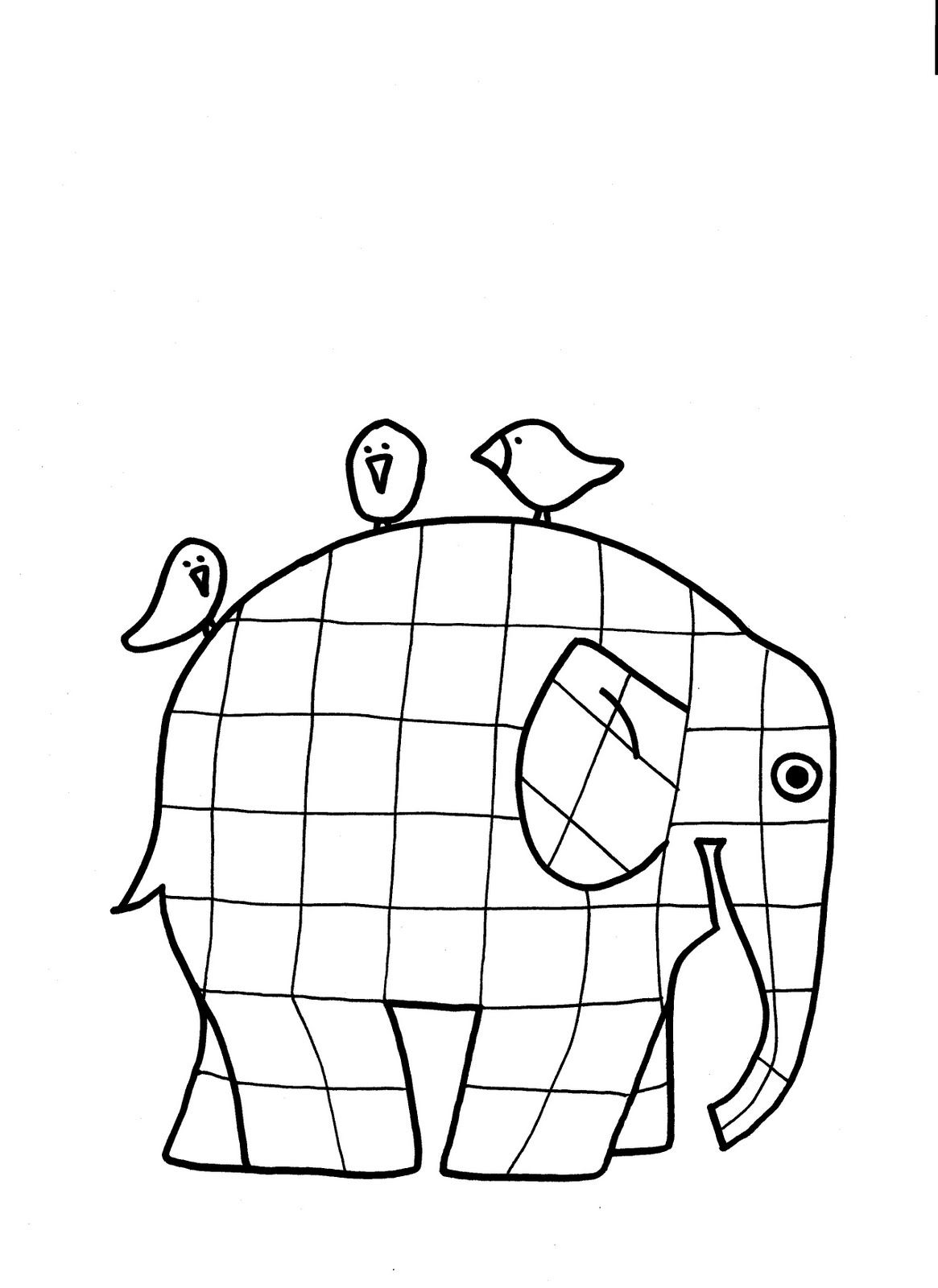 Have Kids Finger Paint Add Goggly Eye And Cut Out Lines Across Elmer The Patchwork Elephant