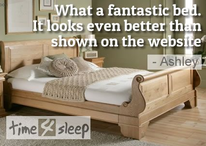 Toulouse Mahogany Wooden Sleigh Bed Very Review Hy With Mattress And