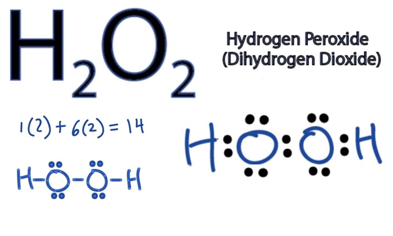 H2o2 Lewis Structure