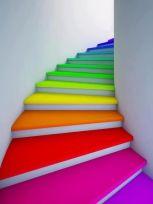 Image result for colourful steps