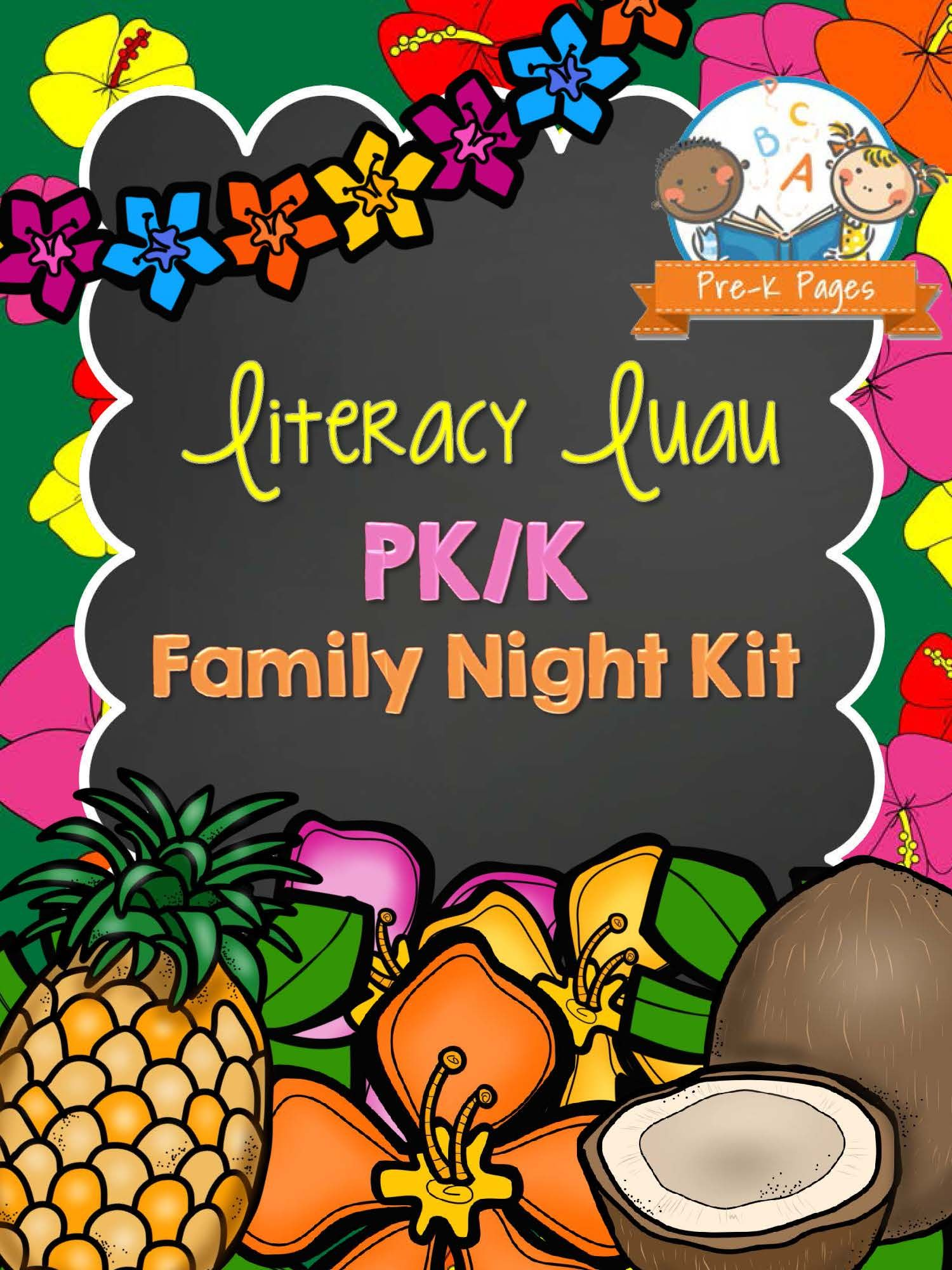 Family Literacy Night Kit